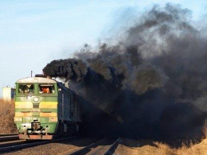 На Волині НП на залізниці: під час руху загорівся пасажирський потяг
