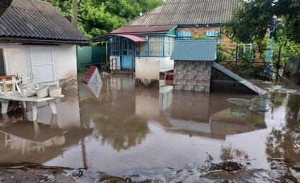 У трьох областях затопило двори, будинки і господарства
