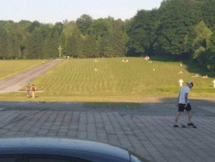 «Ніц святого»: львів'яни масово засмагають на могилах (фото)
