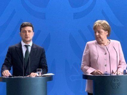 Меркель пообіцяла Зеленському, що санкції проти Росії будуть збережені
