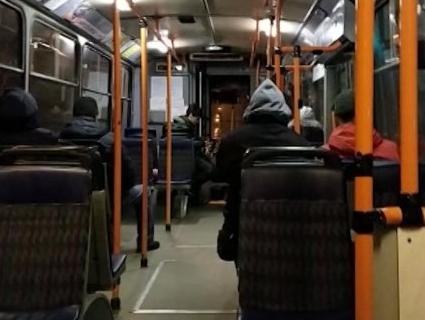 Після перерви Рівним знову курсує нічний тролейбус