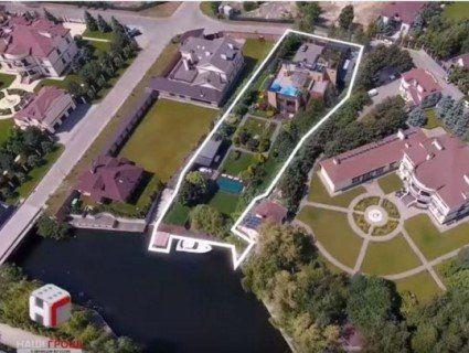 «Помістя з власним причалом»: журналісти показали елітний маєток Богдана (відео)