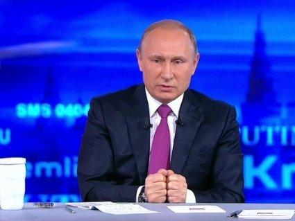 Мінські угоди, Зеленський, полонені українські моряки: що сказав Путін під час прямої лінії