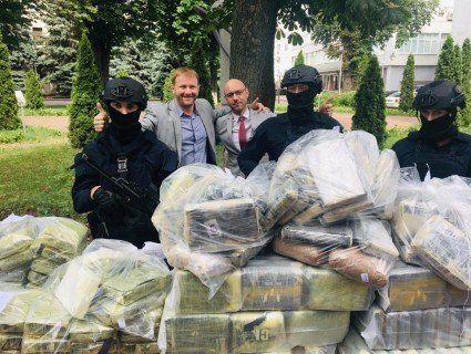 У Києві поліція перехопила півтонни кокаїну на 60 мільйонів «баксів»