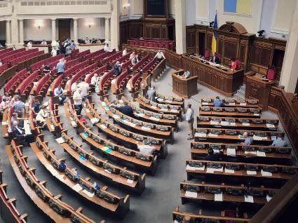 56 замість 450: «рекордна» кількість нардепів «завітала» на засідання Верховної Ради