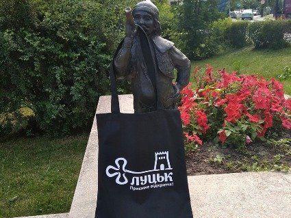 Луцький кликун оголосив конкурс: приз – крутезна  еко-торбинка