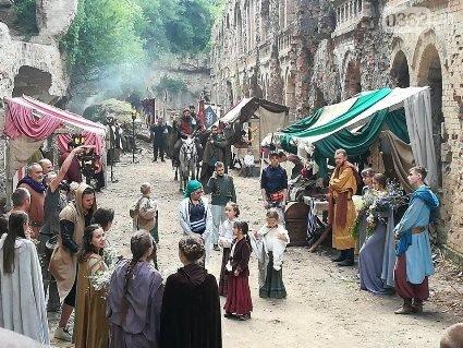 У Тараканівському форті розпочалися зйомки фільму-казки: фото вражають