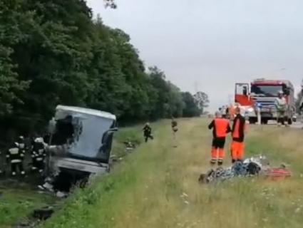 У Польщі потрапив у ДТП автобус із українцями (відео)