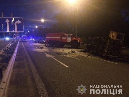 Трагедія на трасі Київ-Чоп: спалахнув «газик» із військовими-контрактниками (фото)