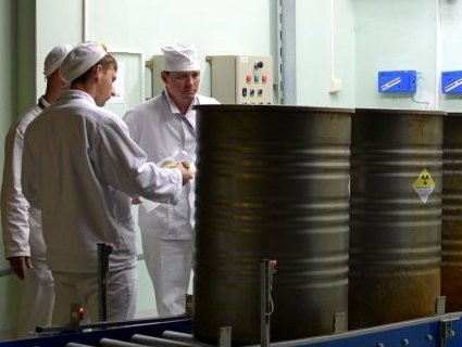 На ЧАЕС почали переробку радіоактивних відходів (фото)