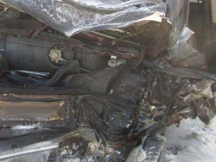 Аварія з вибухом на трасі Київ – Ковель – Ягодин: четверо осіб у реанімації (фото)