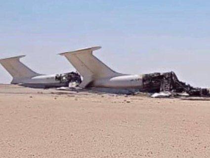У Лівії знищили два українські літаки