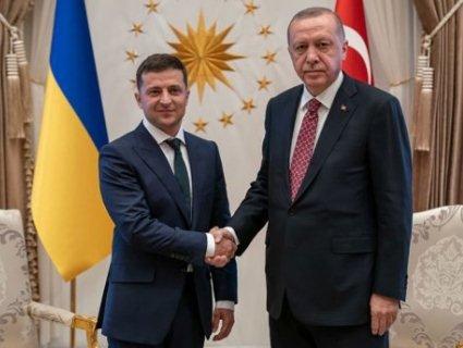 Ердоган потролив Зеленського за браслети
