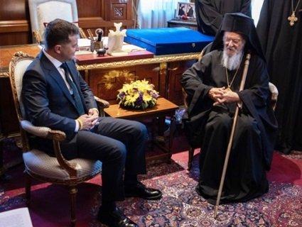 Зеленський у Стамбулі зустрівся зі Вселенським Патріархом