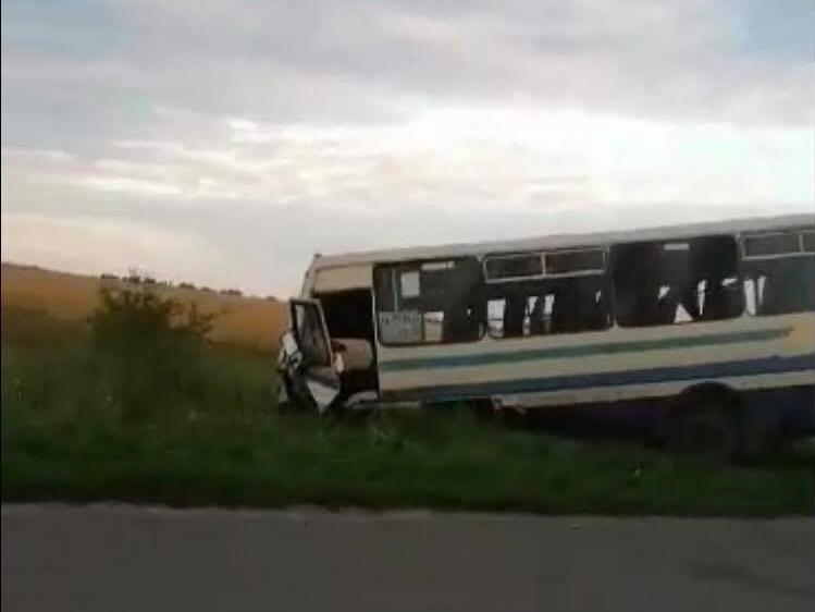 На Львівщині перекинулася маршрутка, багато поранених