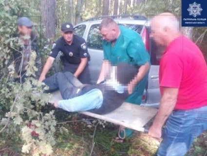 Литовець, який постраждав у ДТП, три доби просидів у лісі на Рівненщині