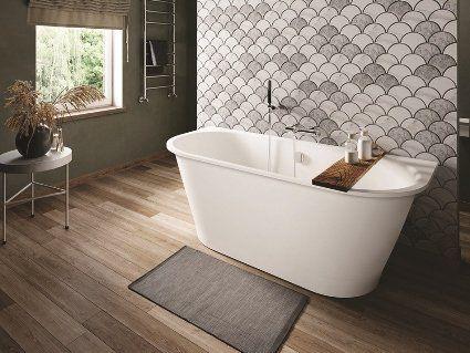 Модні ванни з металу і каменю