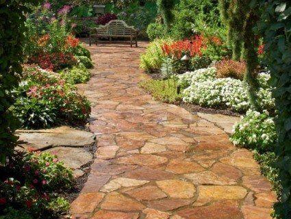 Кам'яні доріжки: бруківка, кругляк, плитняк