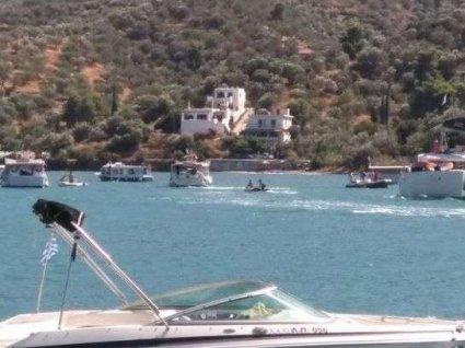 У Греції розбився вертоліт з росіянами (відео)