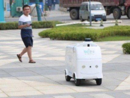 «Чайові для дрона»: піцу і посилки китайцям доставлятимуть безпілотні авто