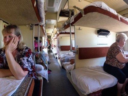 Обурені пасажири погрожували зупинити потяг
