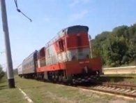 «Швидкісний міжгалактичний»: потяг, який з помпою запустили в «ДНР», висміяли в соцмережах (відео)