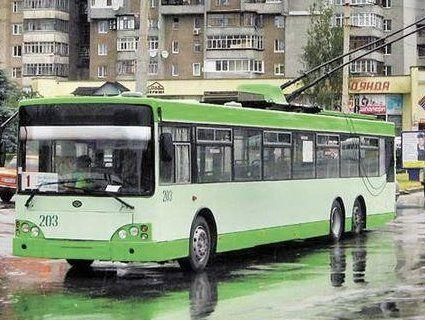 У тролейбусах Луцька дітей переселенців возитимуть безкоштовно