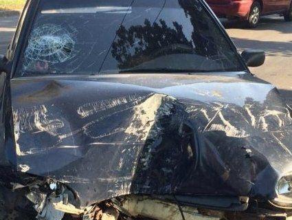 У Луцьку п'яний водій спричинив аварію (фото)