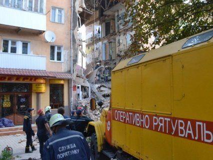 ДСНС не вірить у вибух газу в Дрогобичі, поліція вбачає «умисне знищення»