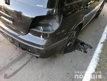 На Дніпропетровщині підірвали авто начальника поліції