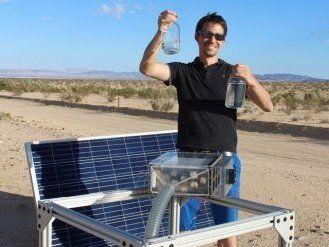 Унікальний пристрій, який видобуває воду з повітря навіть у пустелі (фото)