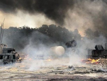 Пожежа на хімпідприємстві Львівщини: є постраждалі
