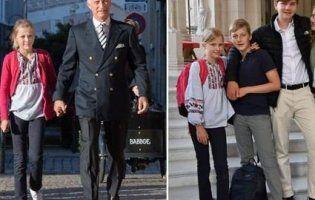 Мережа в захваті: дочка короля прийшла до школи в українській вишиванці