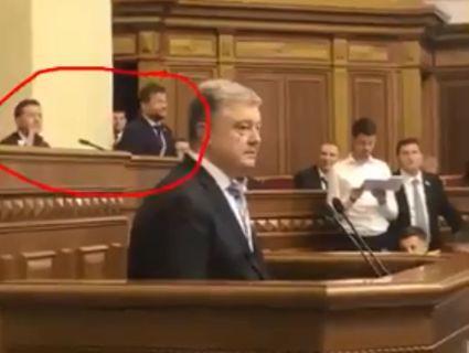 Ще той троляка: Богдан пародіював Порошенка у Верховній Раді (відео)