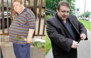 Просто не впізнати: актор дієтами схуд на 100 кілограмів