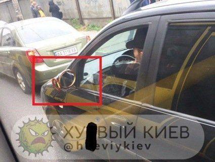 «Я у мами інженер»: у Києві водій насмішив «нанотехнологіями» (фото)