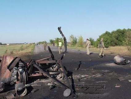 «НП» на Херсонщині: в колоні військової техніки прогриміли вибухи