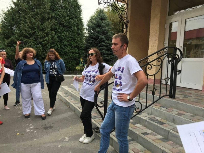 Все про хабарі: місцями корупційної слави у Луцьку вже водять екскурсії (фото)