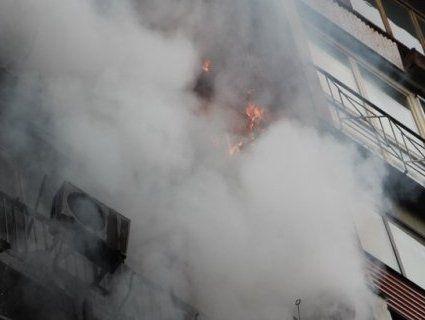 Евакуювали 28 людей – в Івано-Франківську виникла пожежа в багатоповерхівці
