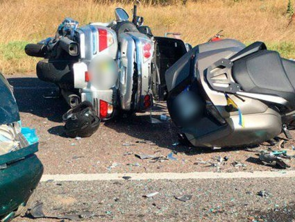 Аварія на Волині: загинув мотоцикліст (фото)