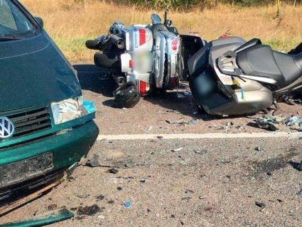 Летальна ДТП: з'ясували, чиє авто «підрізало» колону байкерів на трасі Ковель – Ягодин