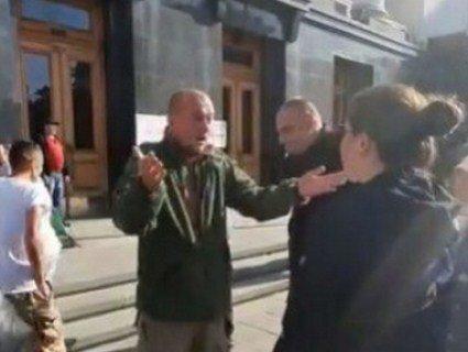 Заступниця Богдана до ветеранів АТО: «Війна почалася через вас» (відео)