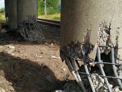 В окупованому Луганську підірвали міст