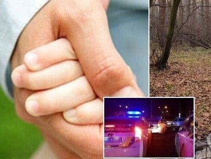 Чоловік викрав 6-річну дочку і дві доби прожив з нею в лісі