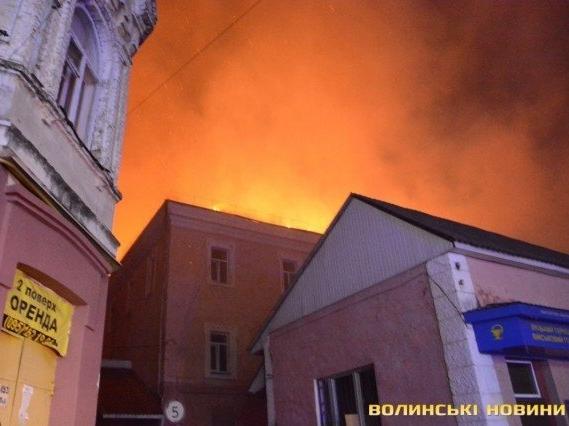 Головлікар луцького госпіталю: Міг статися вибух