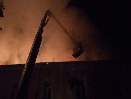 Подробиці пожежі в Луцькому військовому госпіталі (ВІДЕО)