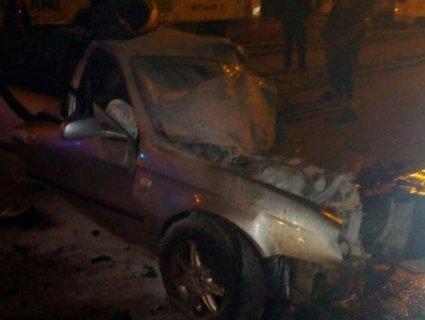 Chevrolet влетів у електроопору – водій загинув