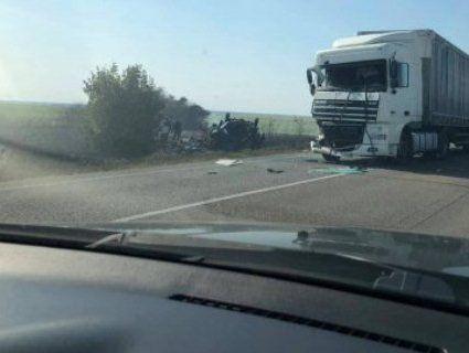 Потрійна ДТП на трасі Київ – Ягодин: один загиблий, п'ятеро травмовані