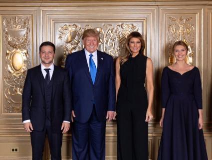 Зустріч Зеленських із Трампами: перші подружжя зробили офіційне фото