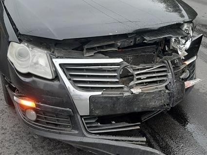 Ранкова аварія: у Луцьку зіштовхнулися три автомобілі (фото)